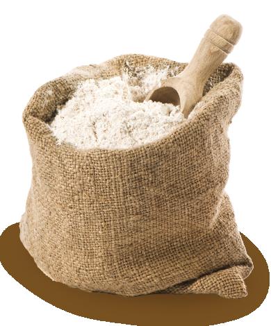 A Granel ou sacos de 25kg paletizados
