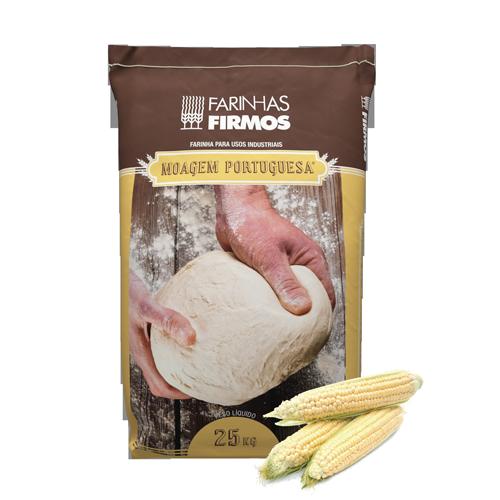 Farinha p/ Pão de Milho Branco